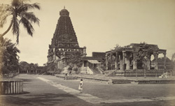 The Great Pagoda and Stone Bull, Tanjore.